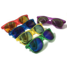 Wholesale Lots 12 Pairs 80S Retro Classic Sunglasses W/ Crystal Colorful Frames