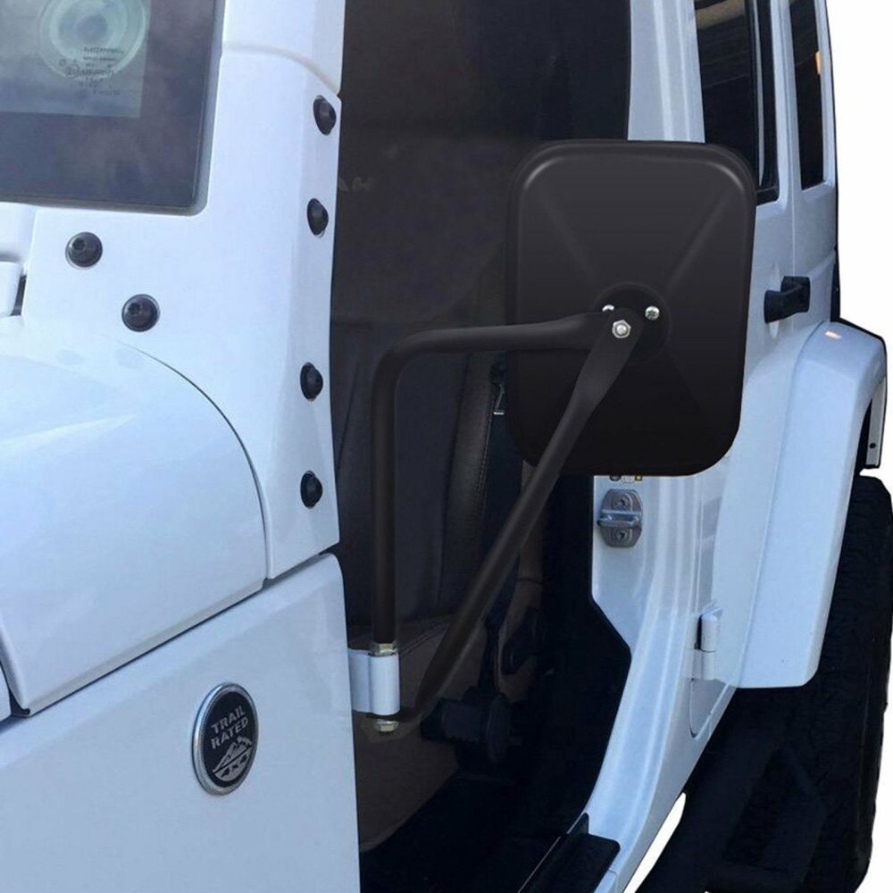 2 4x4 Jeep Wrangler Mirrors Doors Off Side Mirror