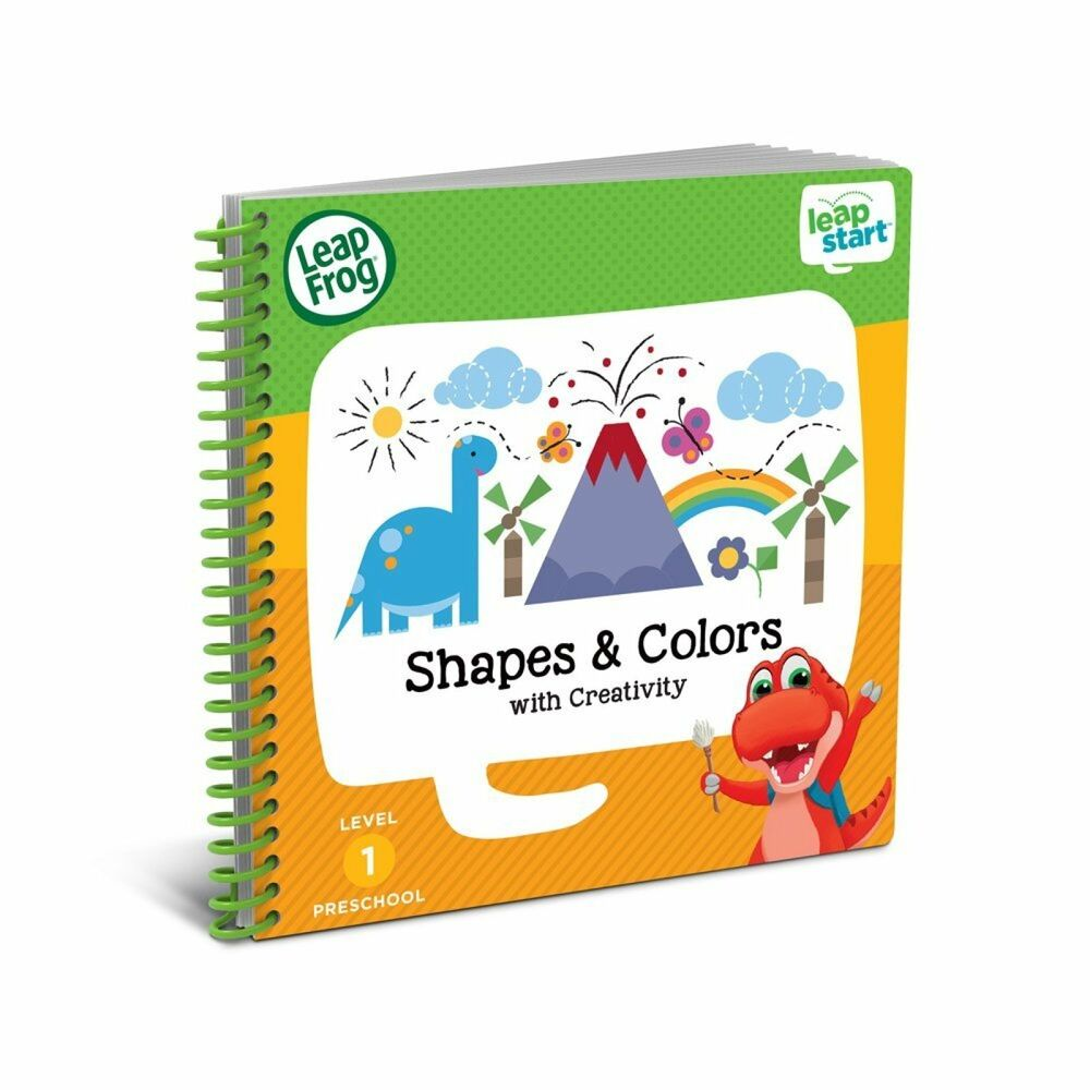 Leapfrog Leapstart Nursery Activity Kids Book Shapes Colours