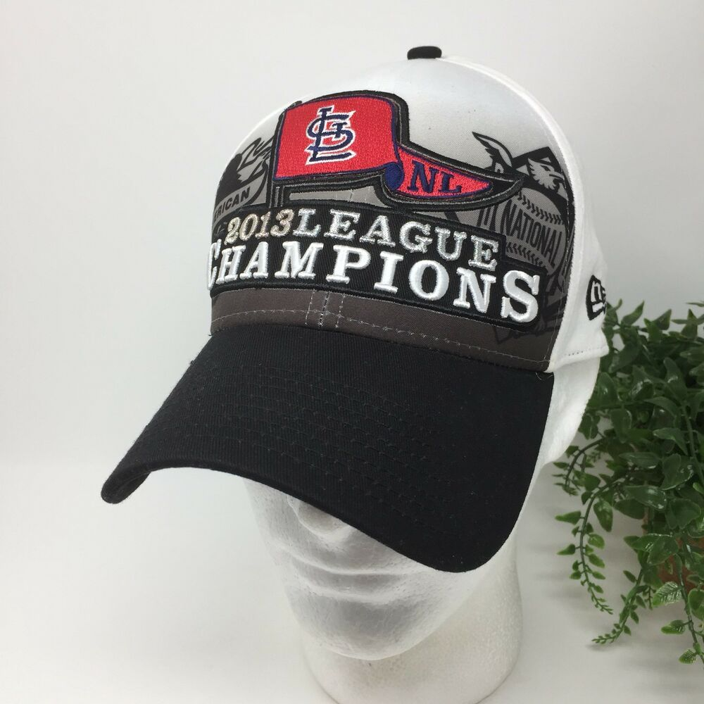 fec6d76728a Details about New Era St Louis Cardinals National League Champions Baseball  Hat OS
