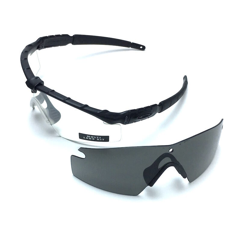 1c093e2a6b Details about Authentic Oakley SI Ballistic M Frame 2.0 Military Safety  Shooting Glasses Kit