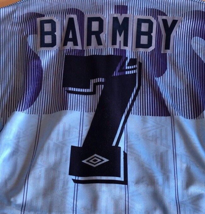 474ca7b4080 Details about Original Tottenham Hotspur Away 1991-94 Shirt Print. Any  Name. Any Number.