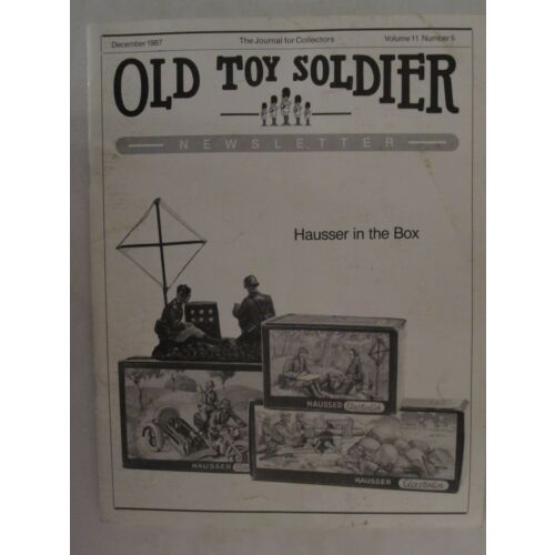 old-toy-soldier-newsletter-magazine-volume-11-number-5-december-1987