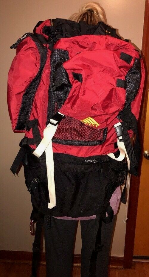 KELTY SANTA FE 4500 Hiking Backpack Multi Day Internal Frame Red ...