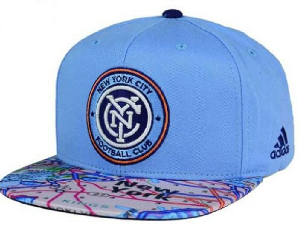 f42983eb50af6 ... purchase details about new york city fc adidas mls skyline snapback cap  hat 20801642 one size