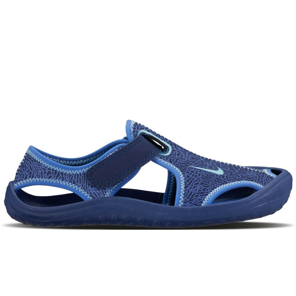 950e889bd506 Details about Nike Sunray Protect PS 903631-400 Blue Hydrangeas Sandals