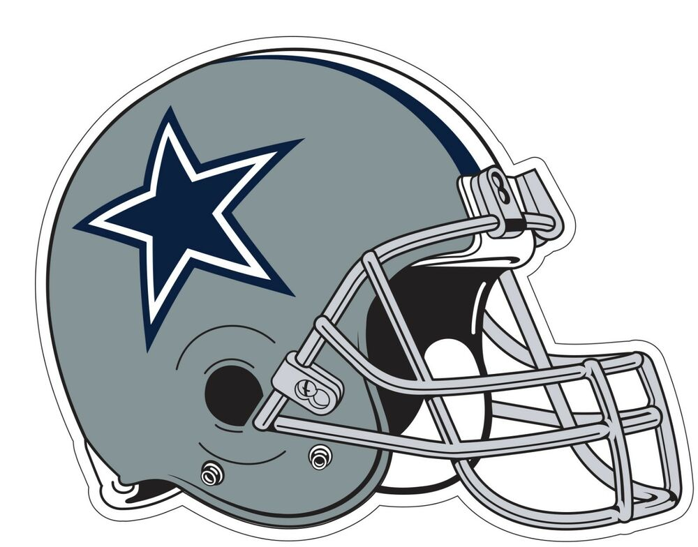 Dallas Cowboys Helmet Nfl Logo Vinyl Decal Sticker You