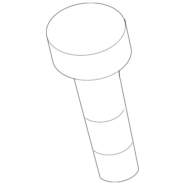 Genuine Gm Air Cleaner Assembly Bolt 11611199