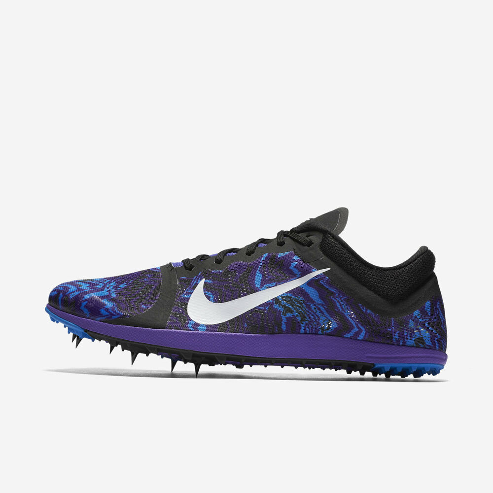 83a5bc5f0f40 Details about Nike Zoom XC Track and Field Spikes - Hyper Grape White Black  Blue 844132-501