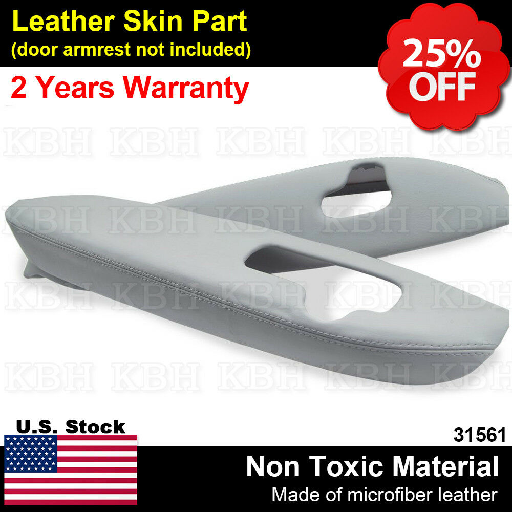 2pcs Leather Front Door Panel Armrest Cover For Acura RL