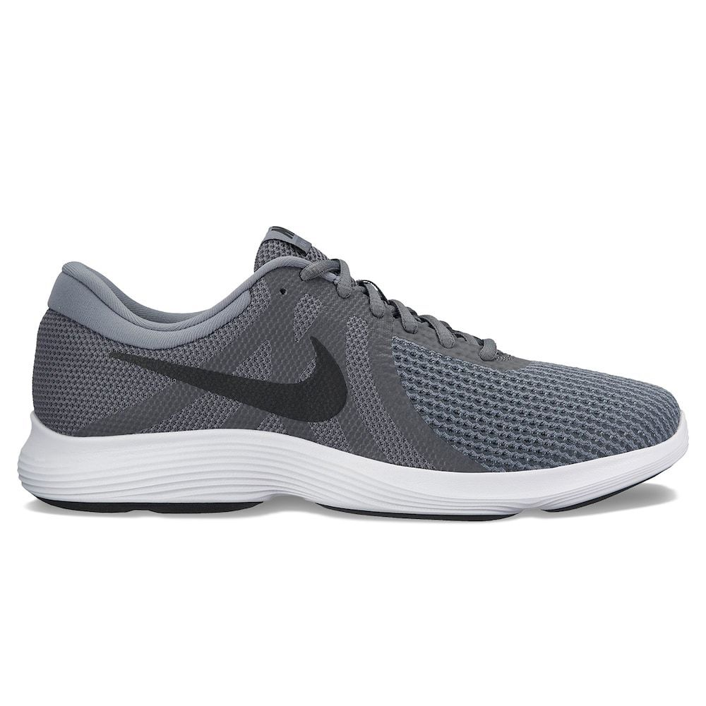 check out 57aba e4d57 Details about Nike Men s REVOLUTION 4 Running Shoe Size 10 10.5 11.5 Gray  Black Shoes Sneaker