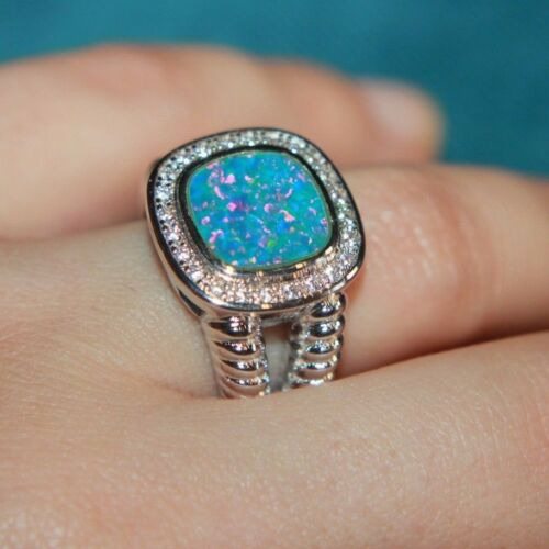fire-opal-cz-ring-gems-silver-jewelry-6-75-8-roman-greek-royal-cocktail-band-gr
