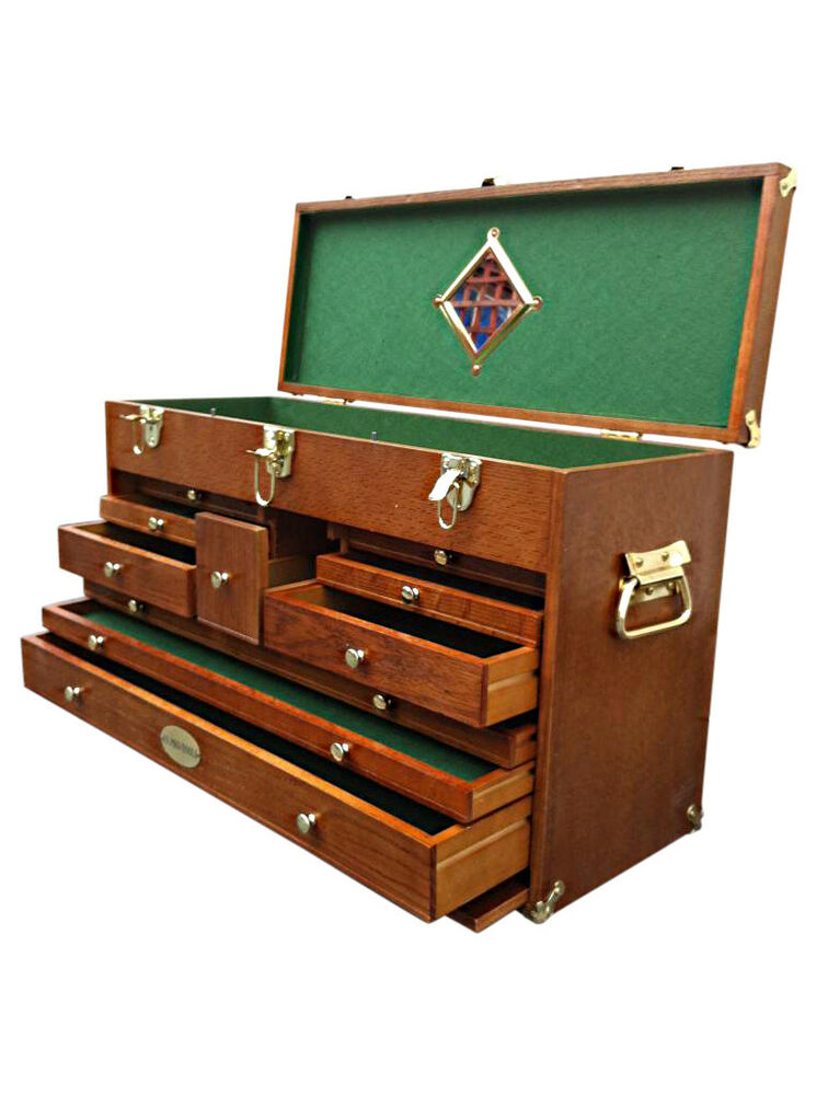 90 Us Pro Tools Wooden Top Tool Box Tool Chest Wood