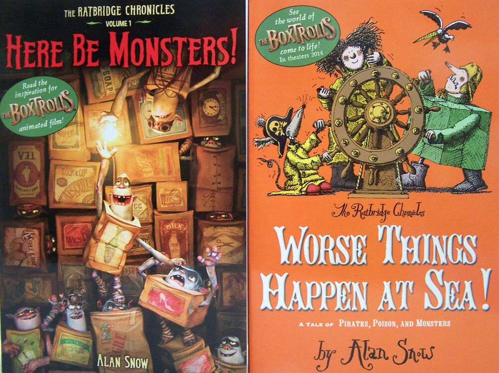 Boxtrolls Here Be Monsters Worse Things Happen At Sea By Alan Snow