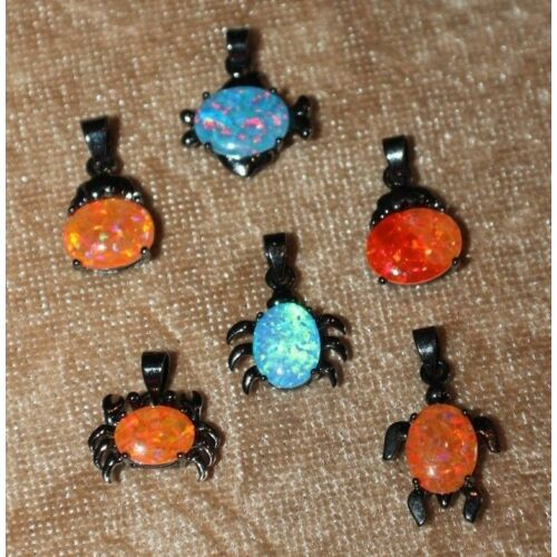 fire-opal-necklace-pendant-gems-silver-black-gold-filled-jewelry-delicate-petite