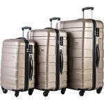 Merax 3Pcs Luggage 20 Inch 24 Inch and 28 Inch 3-Piece Suitcase Spinner Set #Q4