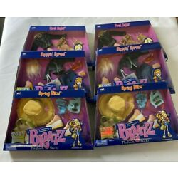 Kyпить 6 pack full collection BRATZ GIRLS DOLL FASHION PACK CLOTHES W/ SHOES Light Skin на еВаy.соm