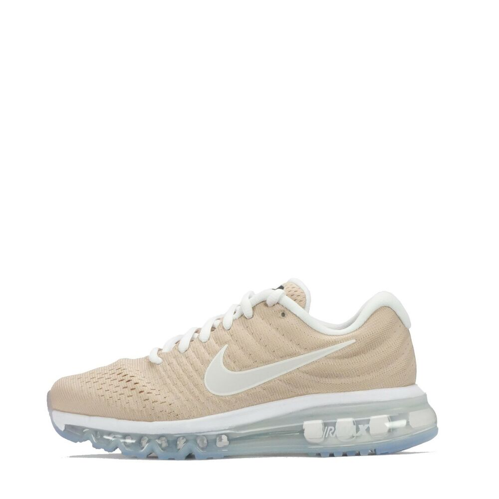 Details about Nike Air Max 2017 Women s Running Trainers Bio Beige White 704ee5540