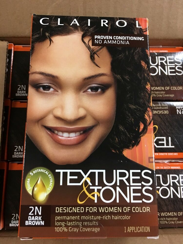 Clairol Professional Textures And Tones Permanent Hair Color Dark