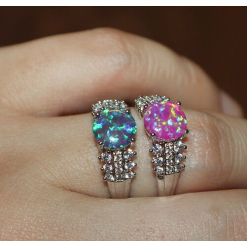 fire-opal-cz-ring-gemstone-silver-jewelry-75-825-engagement-wedding-cocktail-