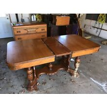 Art Deco Dinning Table with 6Chairs