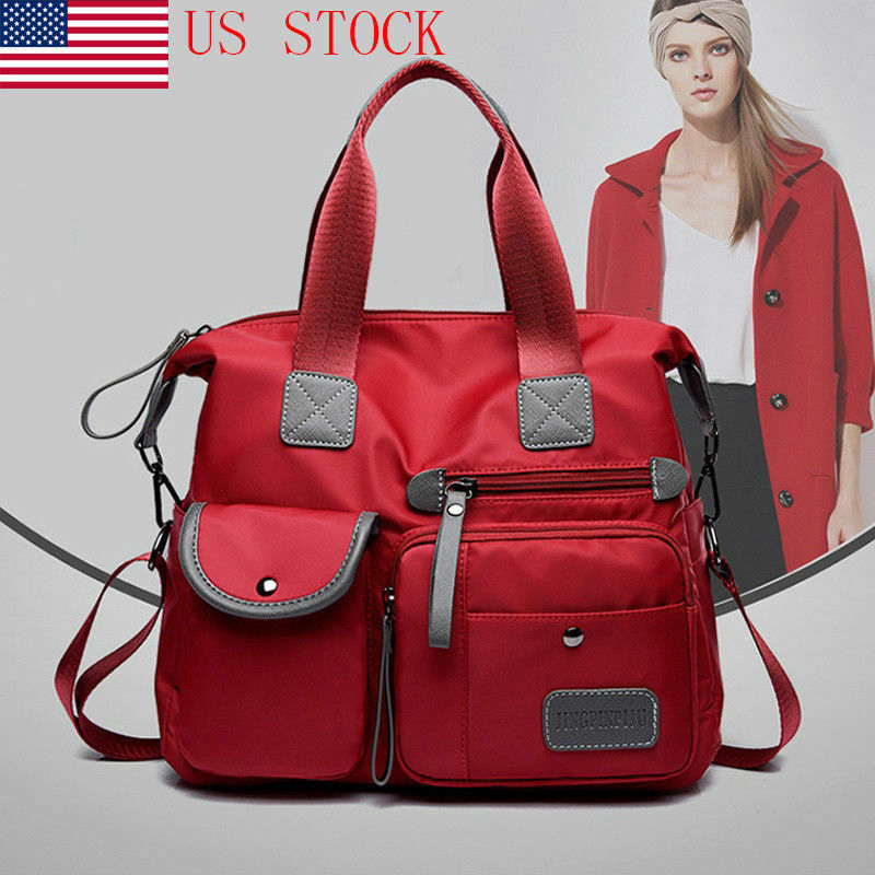 Women Waterproof Nylon Shoulder Bags Messenger Bag Large Capacity Crossbody  Bags  808f0e36769de
