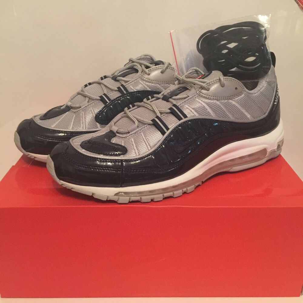 7bf84d48979 Details about Supreme x Nike Air Max 98 - Blue - UK 11.5   Eur 47 - 844694  400