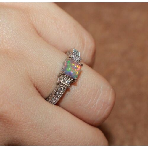 fire-opal-cz-ring-gemstone-silver-jewelry-65-825-9-105-petite-engagement-band