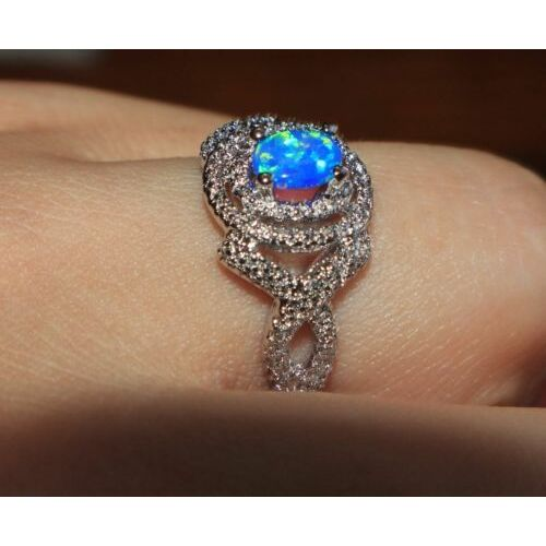 blue-fire-opal-ring-gems-silver-jewelry-sz-6-75-vintage-style-cocktail-band-