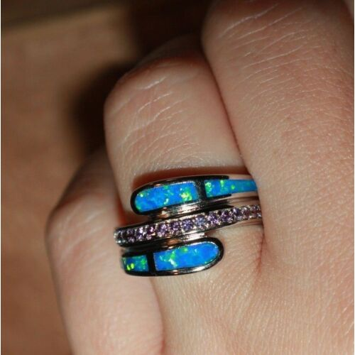 blue-fire-opal-amethyst-ring-gemstone-silver-jewelry-625-75-8-wedding-band-
