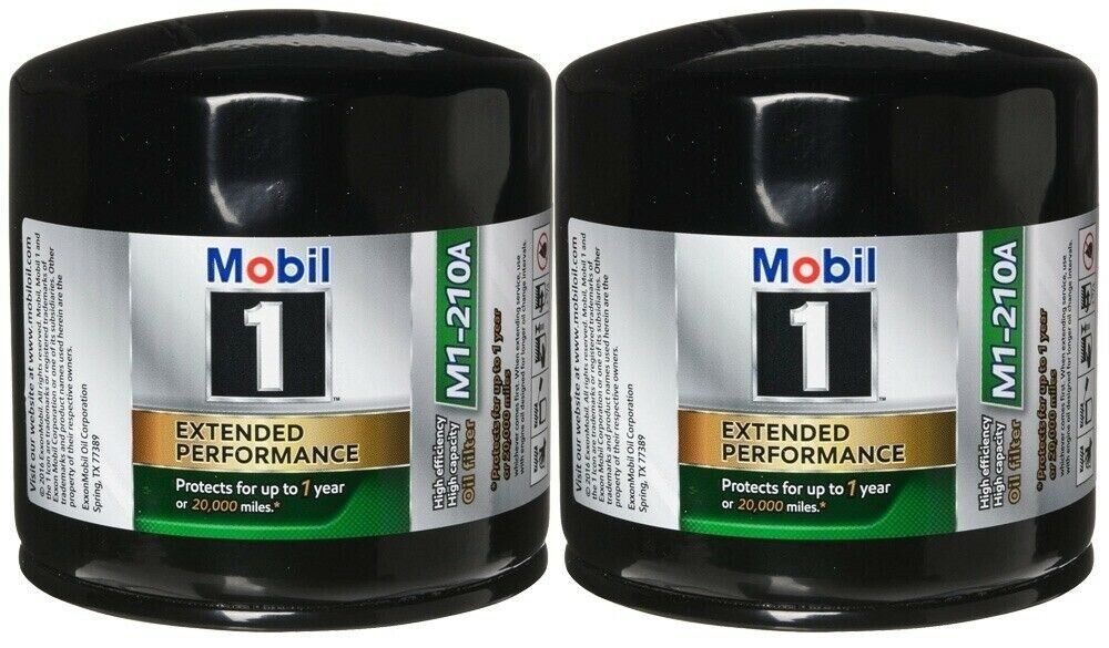 mobil 1 (m1-210a) extended performance oil filter (pack of 2) |