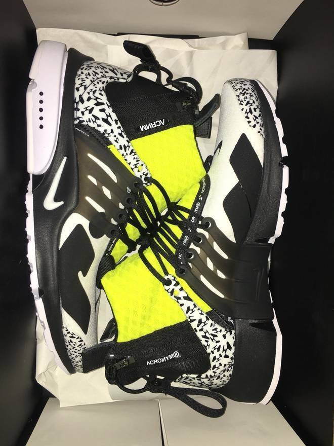 outlet store 0e962 3bf1d 100% authentic 2018 Air Presto Mid x Acronym Dynamic Yellow size US 12   eBay