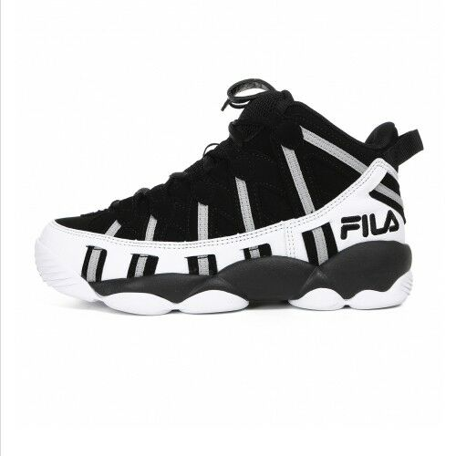 dbbcb08aec9b FILA SPAGHETTI 95 Men s Basketball Sneakers Shoes -  Black White(FS1HTA1011X)