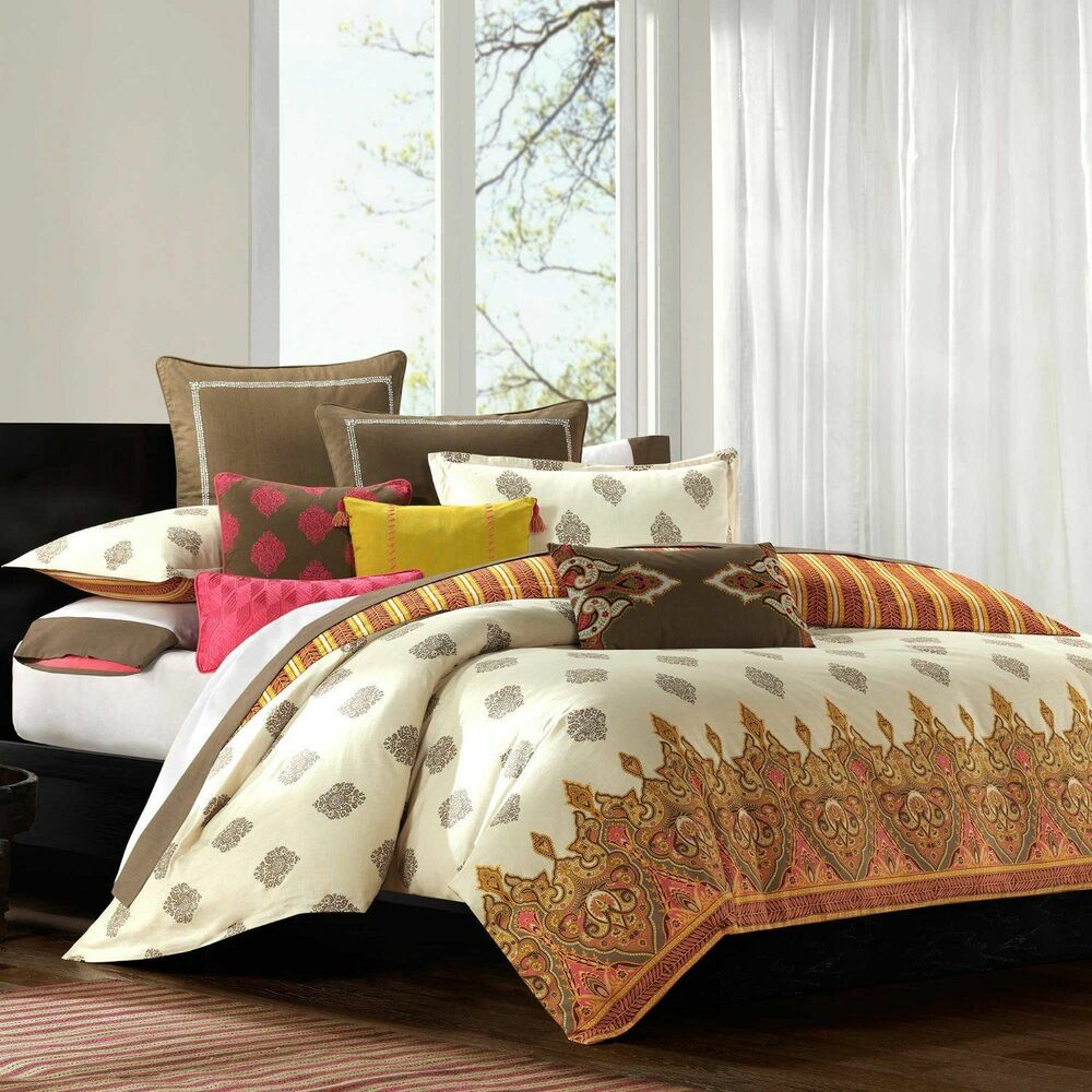 Echo Design Twin Comforter Set 100 Cotton Clearence