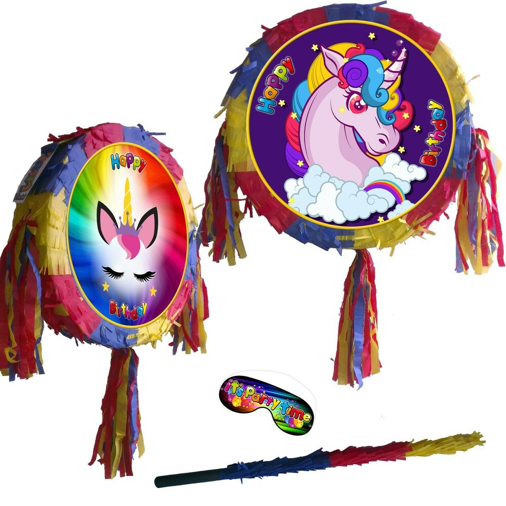 Baby Shower Guess The Gender New Born Pinata Kids Smash Party Fun