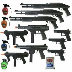 Kyпить MEGA AIRSOFT PARTY PACKAGE - 10 DOA 6mm Airsoft Guns Rifles + 4200 .12g BBs на еВаy.соm
