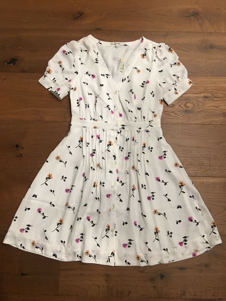 d1bd05e0d66 MADEWELL Daylily Pintuck Dress in Sweet Blossoms 14