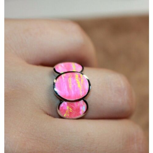pink-fire-opal-ring-gemstone-silver-jewelry-sz-65-85-cocktail-engagement-band