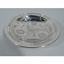 Tiffany Bowl - 18696A - Antique Aesthetic - American Sterling Silver