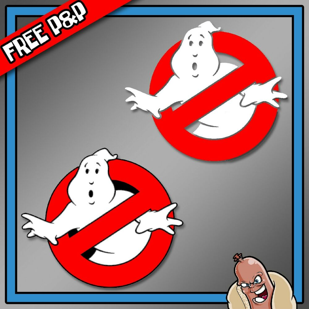 Details about ghostbusters logo car decal window bumper wall sticker film movie