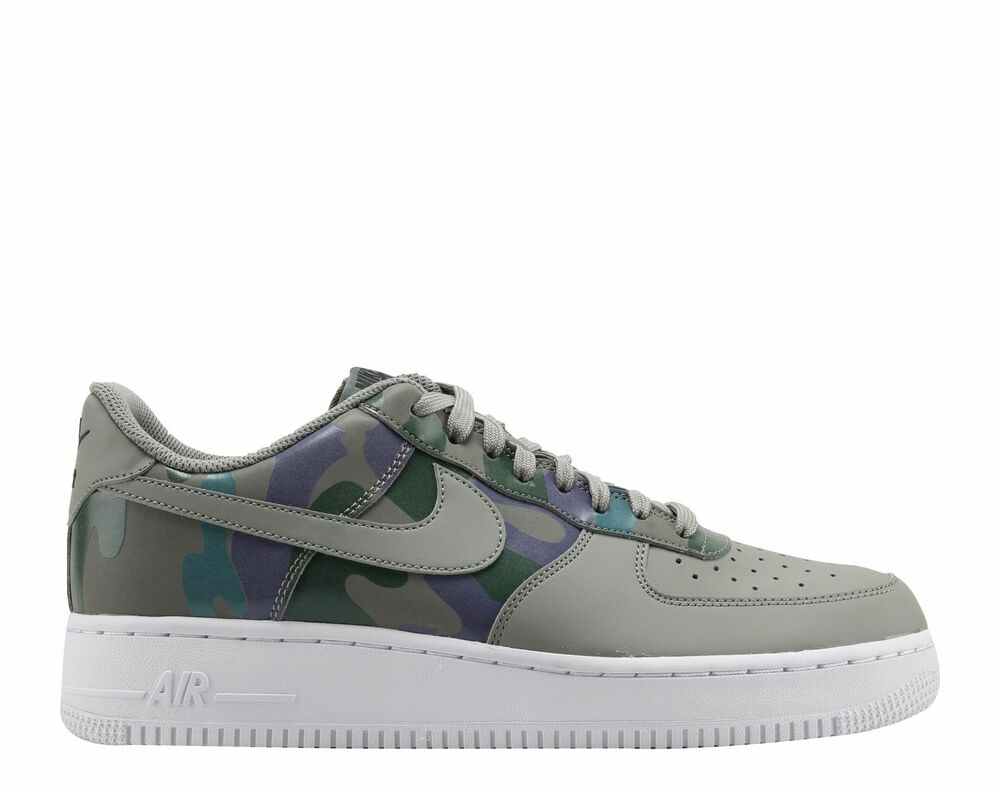 size 40 57bac 95890 Details about MEN S NIKE AIR FORCE 1  07 LV8 SHOES SIZE 12.5 dark stucco  823511 008