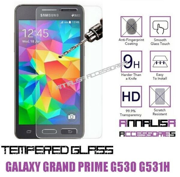 PELLICOLA VETRO TEMPERATO x SAMSUNG GALAXY GRAND PRIME G530 G531F TEMPERED GLASS