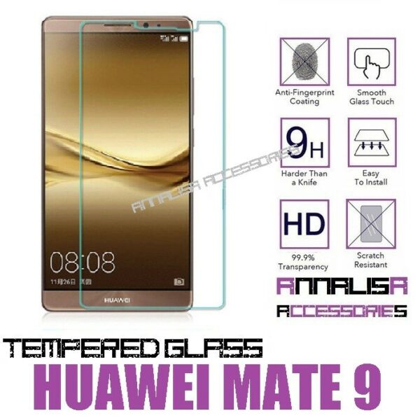 PELLICOLA IN VETRO TEMPERATO PER HUAWEI MATE 9 TEMPERED GLASS SCREEN PROTECTOR