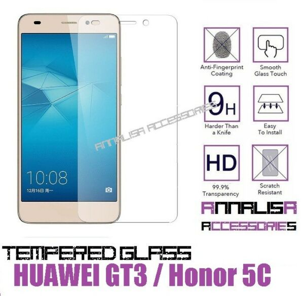PELLICOLA VETRO TEMPERATO HUAWEI GT3 / HONOR 5C TEMPERED GLASS SCREEN PROTECTOR