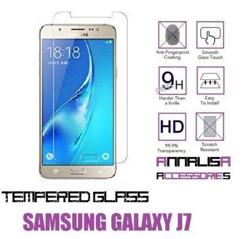PELLICOLA VETRO TEMPERATO SAMSUNG GALAXY J7 2016 TEMPERED GLASS SCREEN PROTECTOR