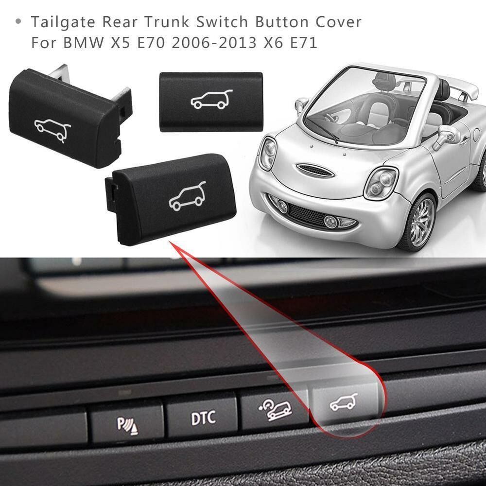 Tailgate Rear Trunk Switch Button Cover For BMW X5 E70