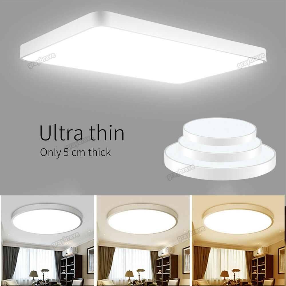 LED Panel Ceiling Down Light Kitchen Bathroom Living Cool
