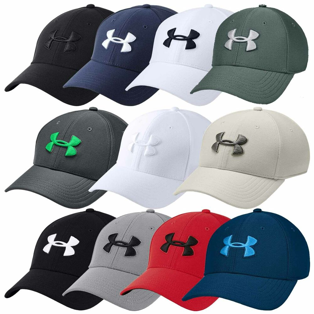Details about 2018 Under Armour Mens Blitzing 3.0 Cap UA Golf Sports  Stretch Fit Baseball Hat 7a9154a72ea4