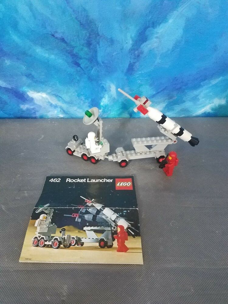 Details about Lego 462 Classic Space Mobile Rocket Launcher Ground Vehicle  Vintage
