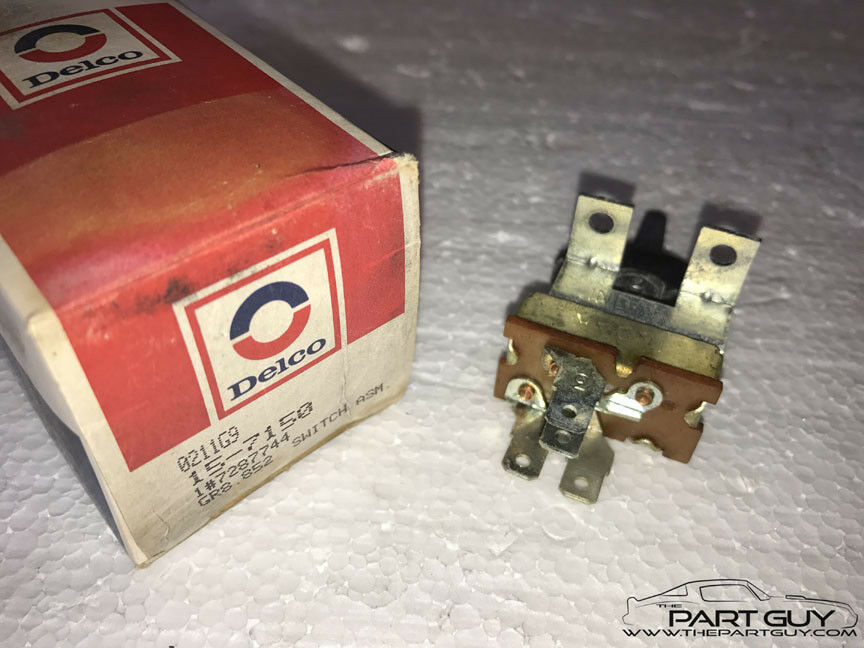 Nos 1964 65 Gto Lemans Heater Fan Blower Speed Control